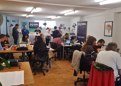 Business advice event at Raw Space