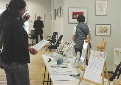 Art exhibition in headspace